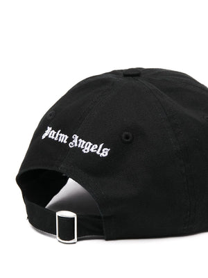 PALM ANGELS MEN BURNING HEAD CAP