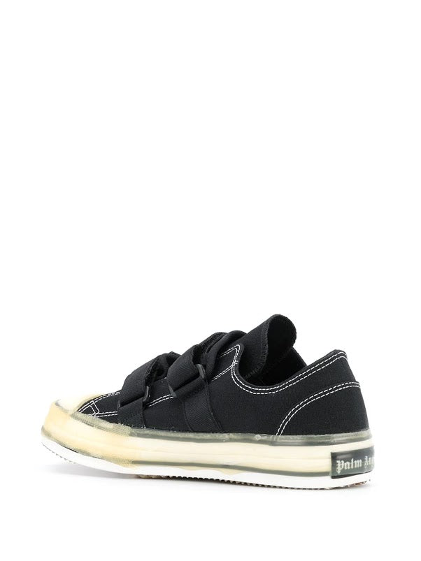 PALM ANGELS MEN VELCRO VULCANIZED SNEAKERS
