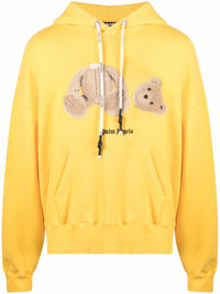 PALM ANGELS MEN BEAR HOODY