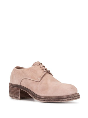 GUIDI WOMEN 792Z CLASSIC SOFT HORSE LEATHER DERBY