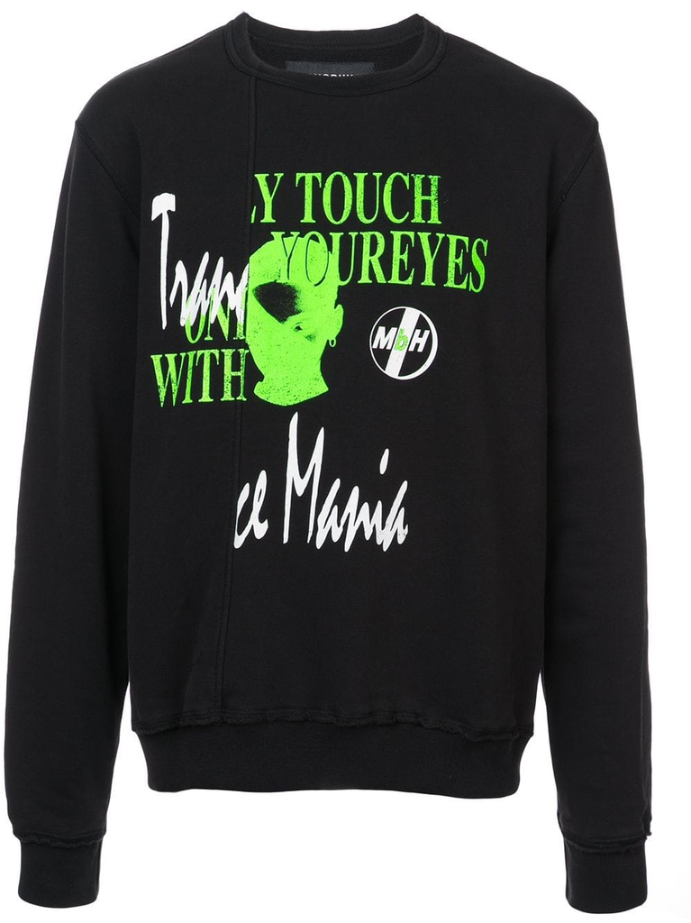MISBHV MEN ONLY TOUCH DOUBLE CREWNECK