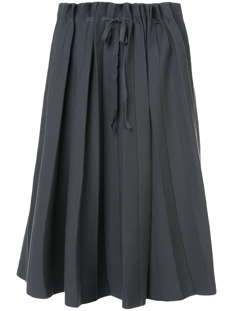 LABEL UNDER CONSTRUCTION WOMEN PLEATED SKIRT