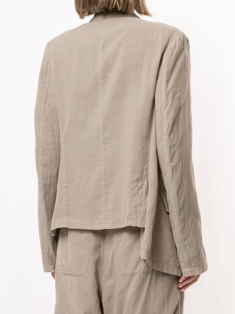 Y'S WOMEN DOUBLE LAYERED JACKET