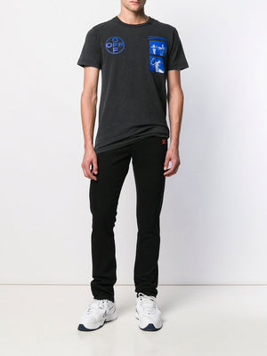 OFF WHITE MEN HARDCORE CARAV S/S SLIM TEE