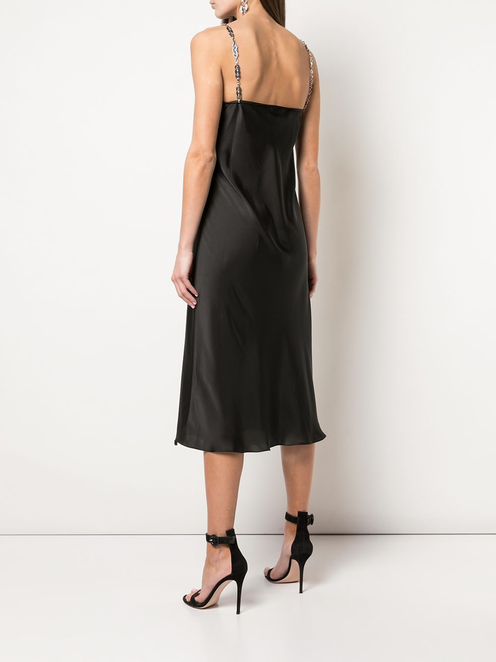 PACO RABANNE MID DRESS WITH STRAPS