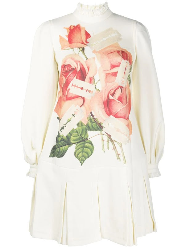 UNDERCOVER WOMEN ROSE PRINT JERSEY DRESS