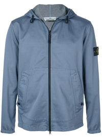 STONE ISLAND MEN ZIP UP HOODIE