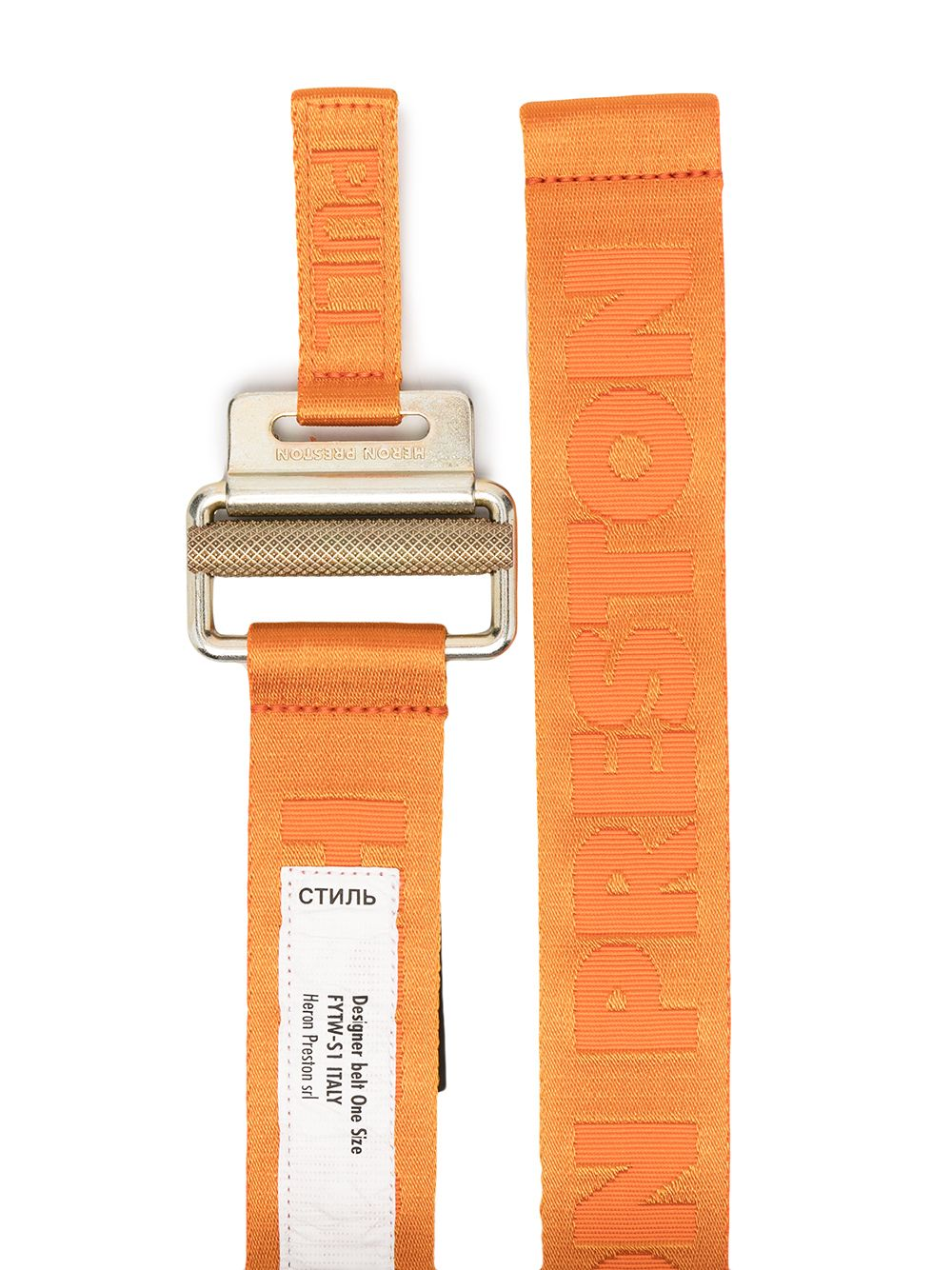 HERON PRESTON MEN TAPE BELT 4 CM CLASSIC BUCKLE