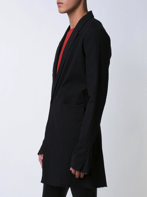MA+ MEN OUTER POCKETS LONG UNLINED JACKET
