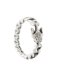 GOODART HLYWD MODEL 10A BRACELET WITH WHITE DIAMONDS IN ROSETTE