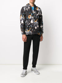 COMME DES GARCONS SHIRT MEN GRAFFITI HOODED BLOUSON