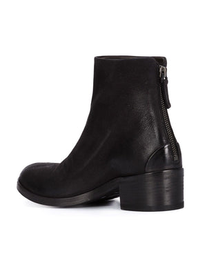MARSELL WOMEN LEATHER ANKLE BOOTS