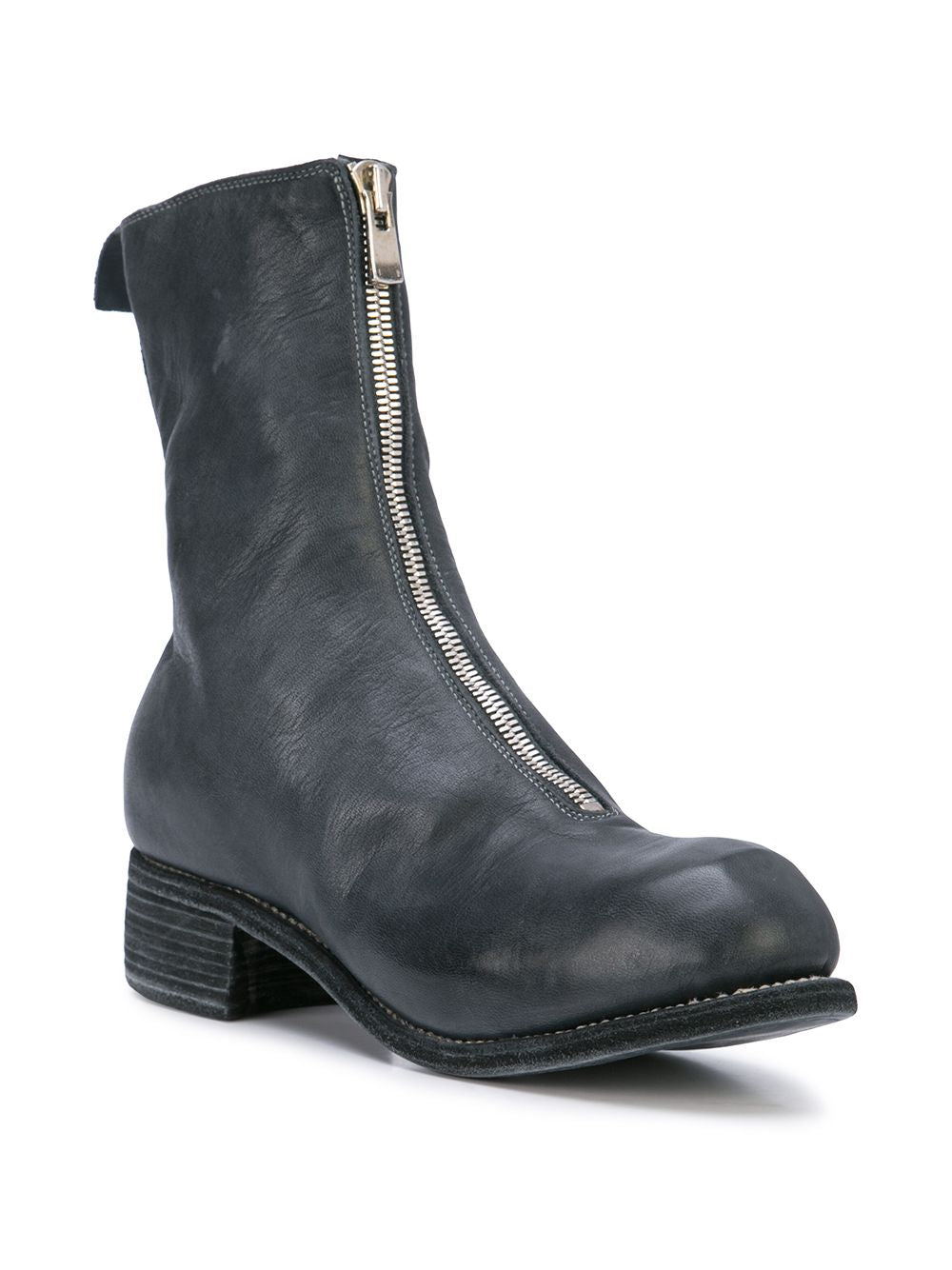 GUIDI MEN PL2 HORSE LEATHER CLASSIC FRONT ZIP BOOTS