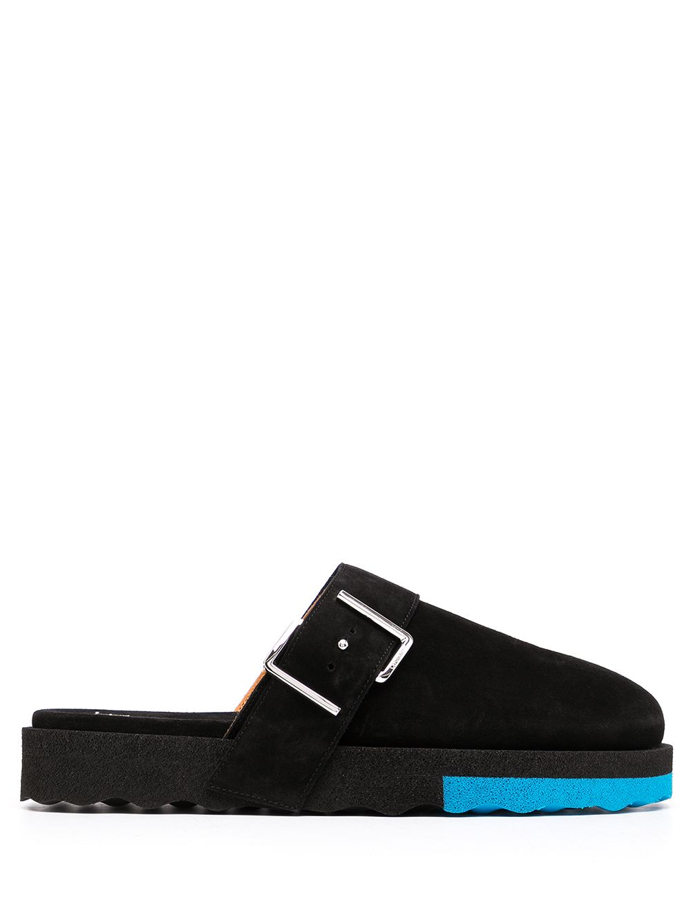 OFF-WHITE MEN COMFORT LEATHER SLIPPERS