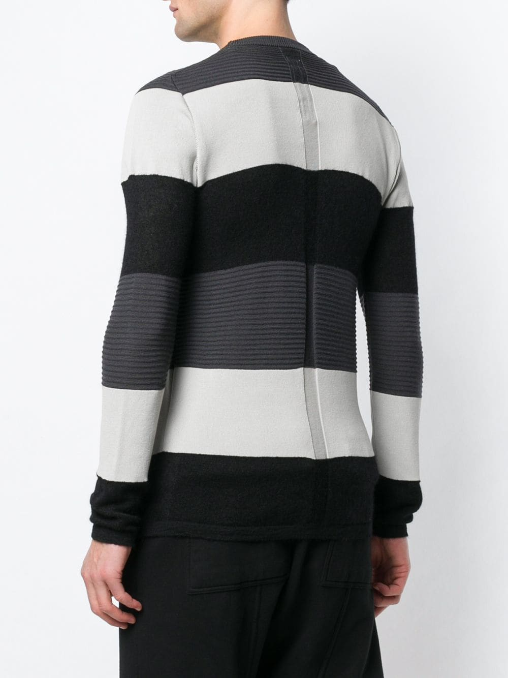 RICK OWENS MEN BIKER LEVEL SWEATER