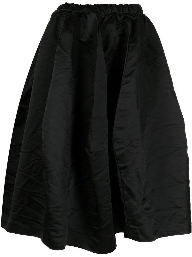 COMME DES GARCONS WOMEN PLEATED VOLUME SKIRT