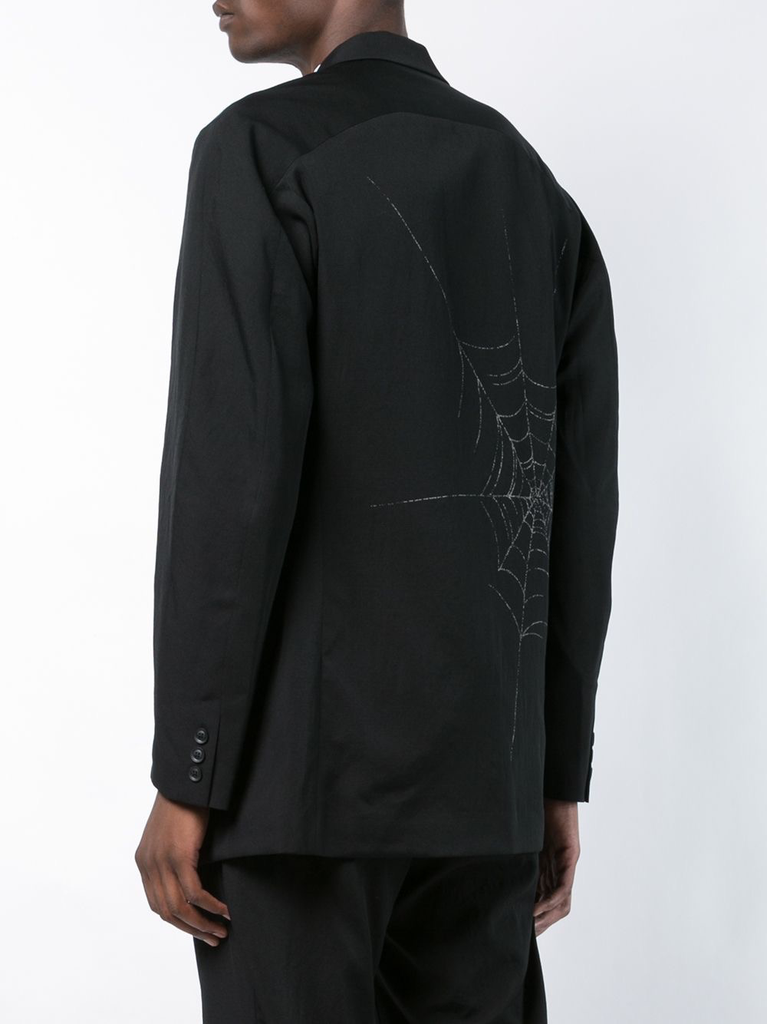 YOHJI YAMAMOTO POUR HOMME W-SPIDERWEB PT 3BS JACKET