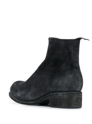 GUIDI WOMEN PL1 COATED FRONT ZIP BOOTS