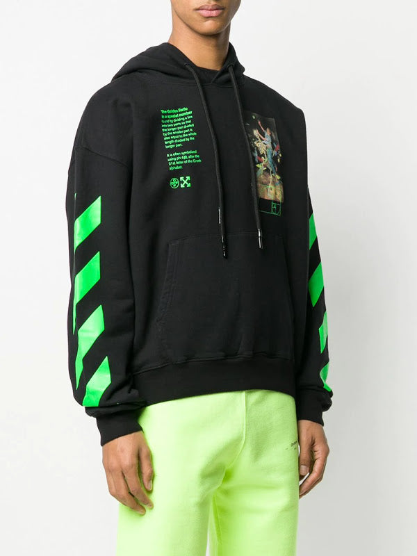 OFF-WHITE MEN PASCAL PAINTING OVER HOODIE