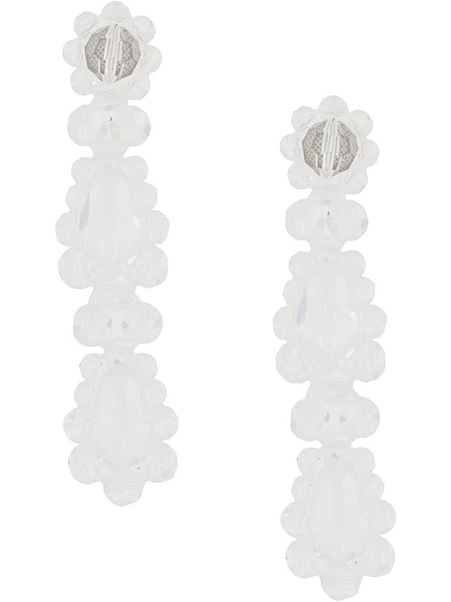 SIMONE ROCHA WOMEN SHORT DROP EARRING