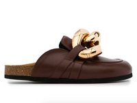 JW ANDERSON WOMEN CURB CHAIN LOAFER