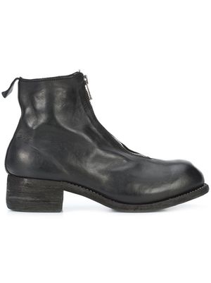 GUIDI MEN PL1 HORSE LEATHER FRONT ZIP BOOT