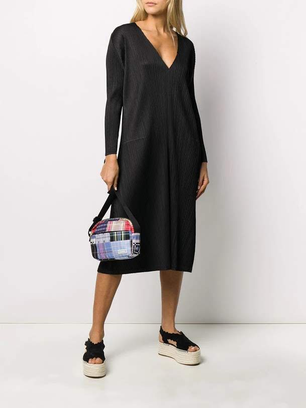 PLEATS PLEASE ISSEY MIYAKE WOMEN PLEATED DRESS
