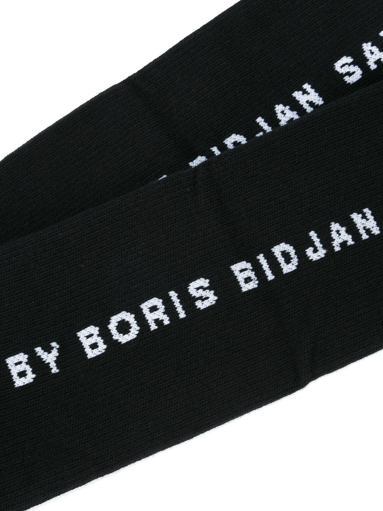 11 BY BORIS BIDJAN SABERI MEN LOGO AND TYPE SOCKS 3 PACK