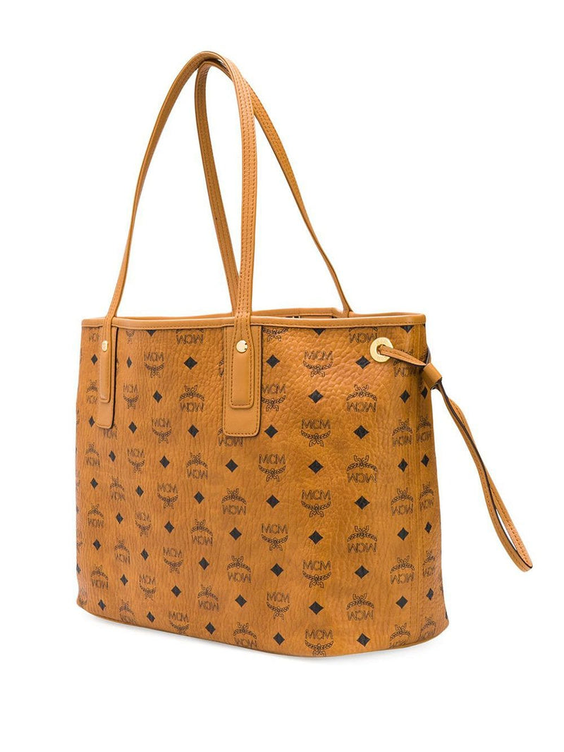 MCM WOMEN MEDIUM LIZ VISETOS SHOPPER BAG