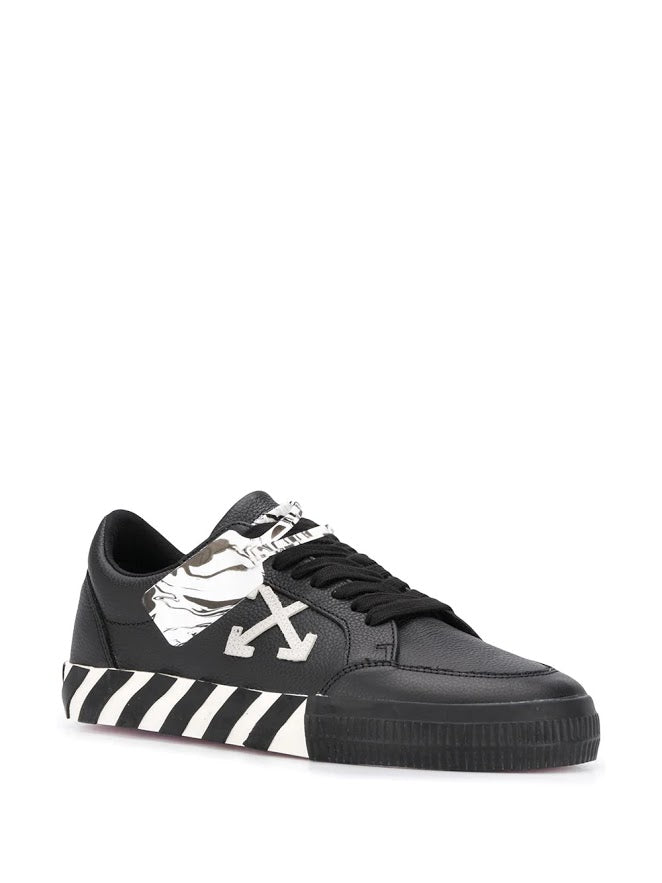 OFF-WHITE MEN LOW VULCANIZED SNEAKERS LEATHER