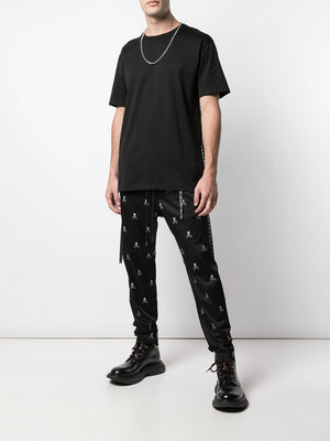 MASTERMIND WORLD MEN ALL OVER LOGO CASUAL PANTS