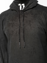 11 BY BORIS BIDJAN SABERI MEN WAXED HOODIE