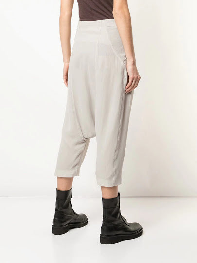 RICK OWENS WOMEN ELASTIC SWING PANTS