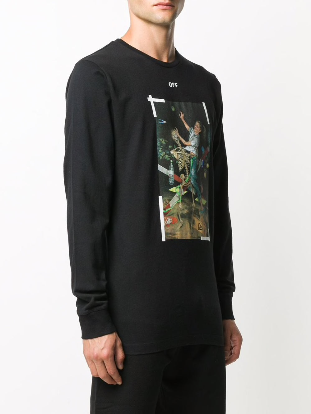 OFF-WHITE MEN PASCAL PRINT L/S TEE