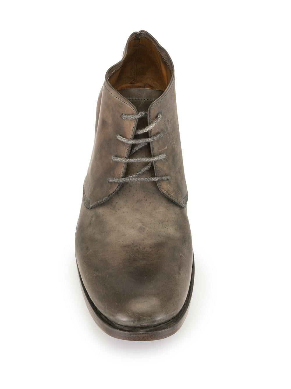 A1923 MEN CORDOVAN ANKLE BOOTS