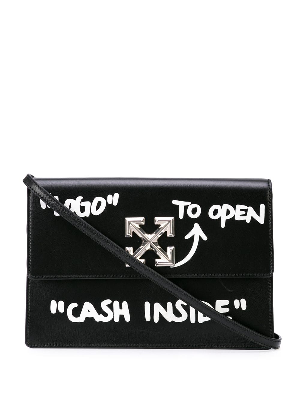 OFF-WHITE WOMEN JITNEY 1.0 CASH INSIDE BAG