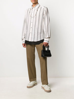 ANN DEMEULEMEESTER MEN EDWARDS JOURNEY SHIRT
