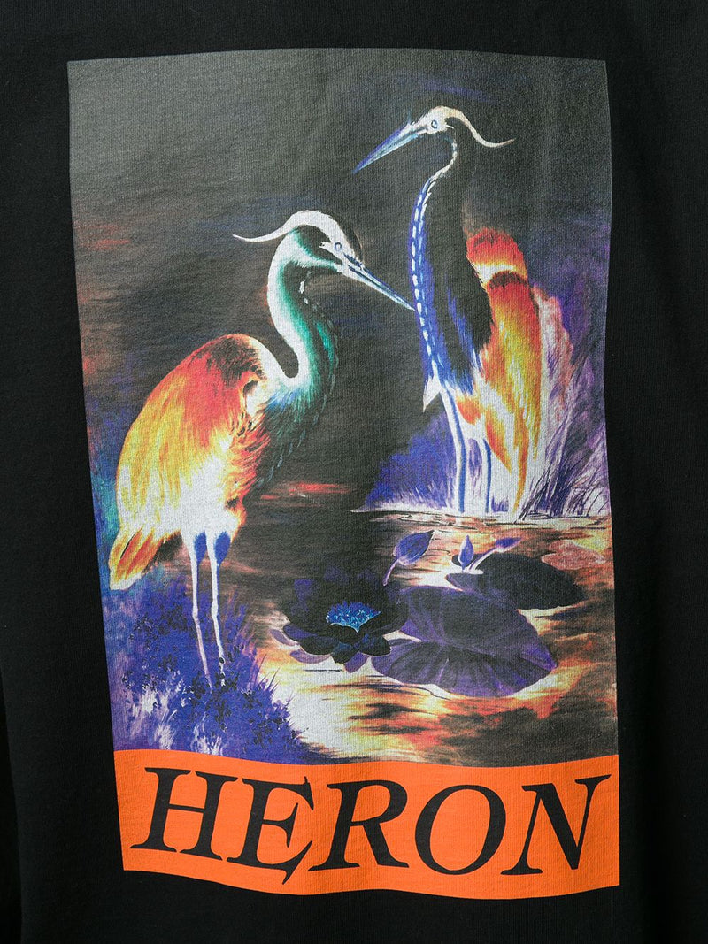 HERON PRESTON MEN LS T-SHIRT OS HERON TIMES