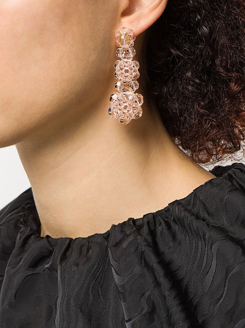 SIMONE ROCHA WOMEN THREE TIER EARRING