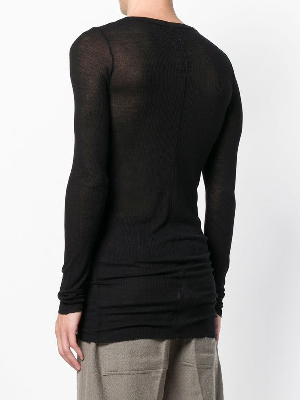 RICK OWENS MEN KNIT T-SHIRT