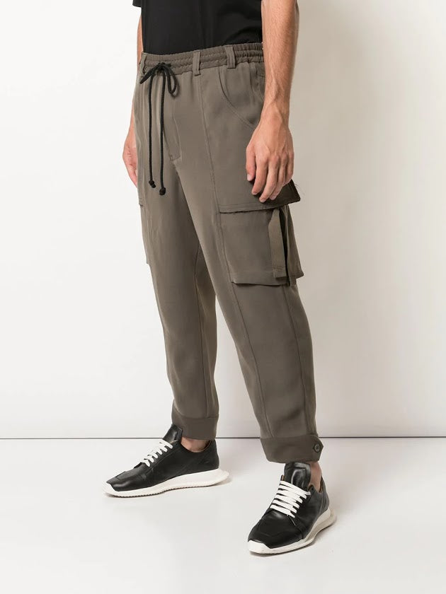 SONG FOR THE MUTE MEN ELASTICATED CARGO PANT