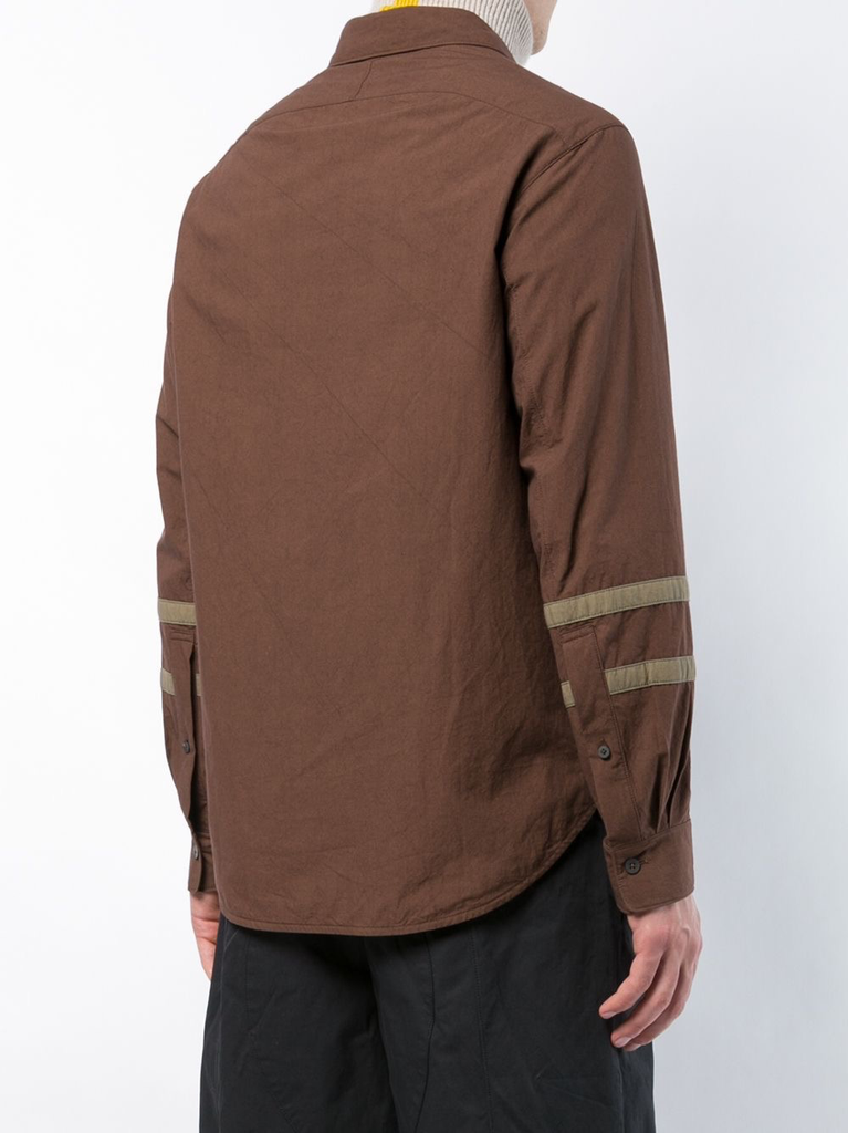 ZIGGY CHEN MEN CLASSIC SHIRT WITH SLEEVE DETAIL