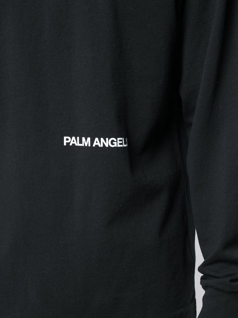 PALM ANGELS LONG SLEEVES RECOVERY TEE