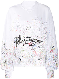 PALM ANGELS WOMEN DESERT LOGO  PAINTER SWEATSHIRT