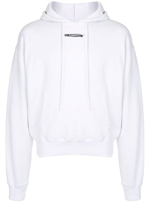 OFF-WHITE MEN BARREL WORKER OVER HOODIE