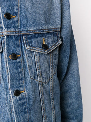 ALEXANDER WANG WOMEN DAZE LIGHT INDIGO DENIM JACKET