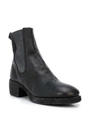 GUIDI MEN 76Z BABY CALF LEATHER CHELSEA BOOTS