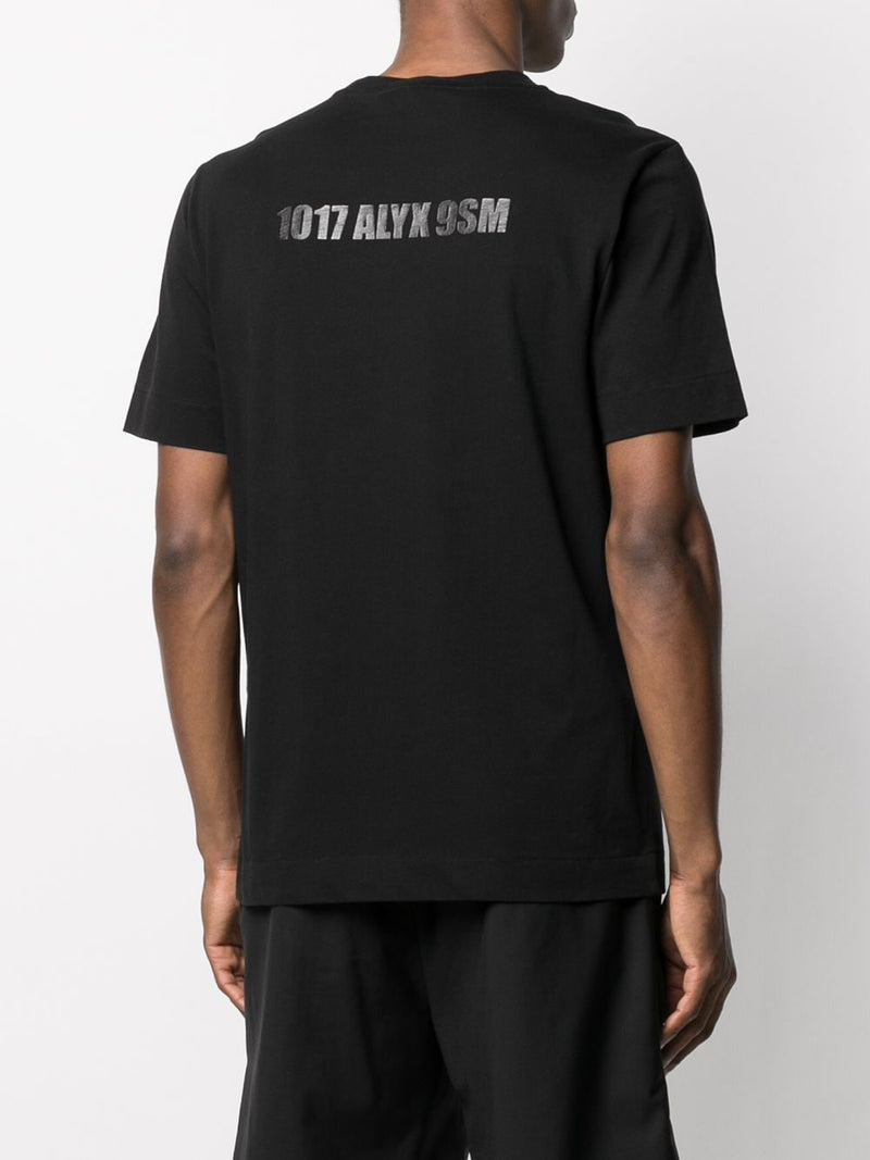 1017 ALYX 9SM MEN MIRRORED LOGO TEE