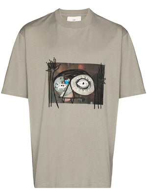 SONG FOR THE MUTE MEN MONSTER OVERSIZED TEE