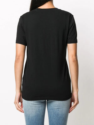 OFF-WHITE WOMEN PAPER CLIP BASIC CASUAL TEE